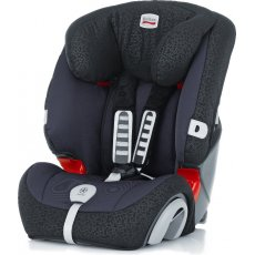 Автокресло Britax-Romer Evolva 123 Plus Black Thunder (черное)