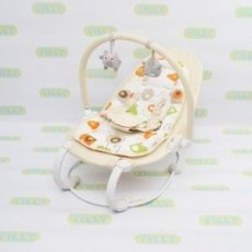 Шезлонг-качалка Baby Tilly Beige BT-BB-0004 (бежевый)