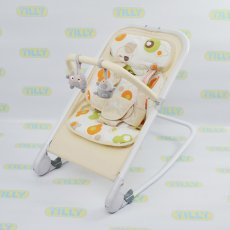 Шезлонг-качалка Baby Tilly Beige BT-BB-0005 (бежевый)