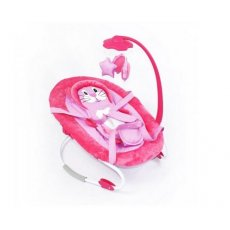 Шезлонг-качалка Baby Tilly Pink BT-BB-0002 (розовый)