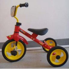 Велосипед Baby Tilly Combi Trike Red