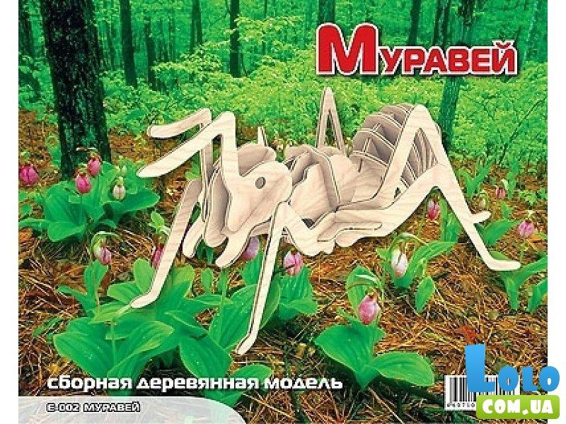 Муравей из дерева