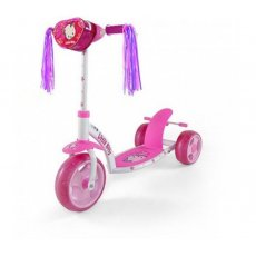 Самокат Milly Mally Crazy Scooter Pink Kitty (розовый)
