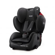 Автокресло Recaro Young Sport Hero Performance Black (черное)