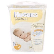 Подгузник Huggies Elite Soft 2 (Джамбо), 66 шт