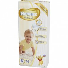 Подгузники Huggies Elite Soft 5 (Мега), 56 шт