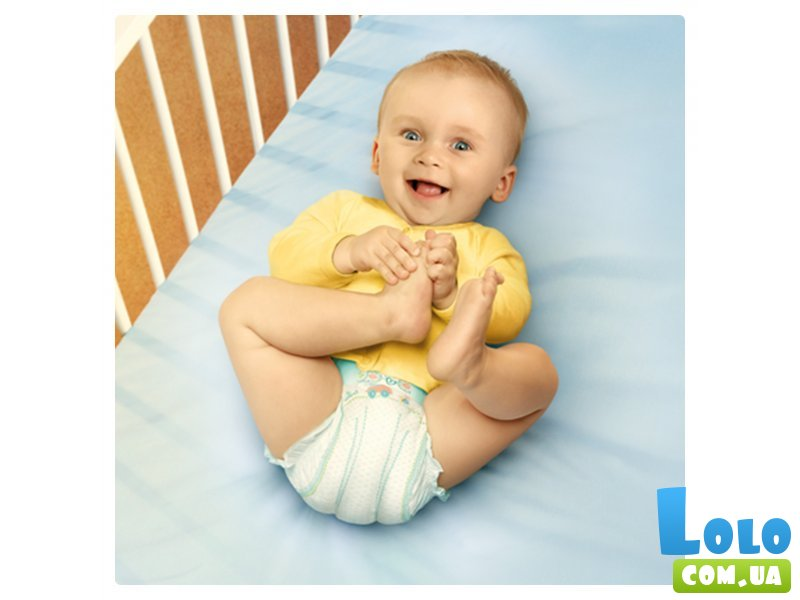 Подгузники Pampers New Baby-Dry Размер 2 (Mini) 3-6 кг, 144 шт (8001090459244)