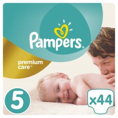 Подгузники Pampers Premium Care Размер 5 (Junior) 11-18 кг, 44 шт (4015400278870)