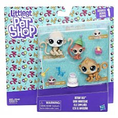 "Набор фигурок Littlest Pet Shop ""Family Pack Monkeys"" (C2099)"