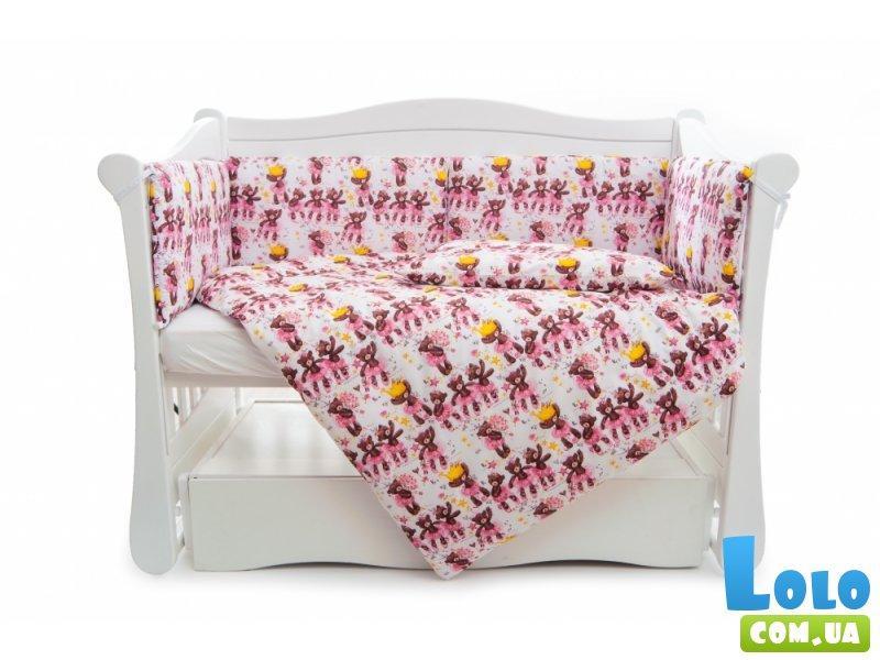 защитный бампер в кроватку