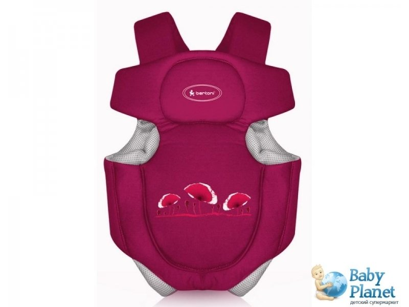 Рюкзак-кенгуру Bertoni Baby Carrier Traveller Red (красное)