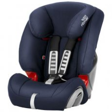 Автокресло Evolva 1-2-3 Moonlight Blue, Britax-Romer (синее)